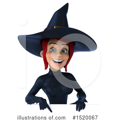 Blue Witch Clipart #1520067 by Julos