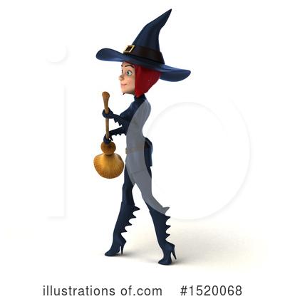 Blue Witch Clipart #1520068 by Julos