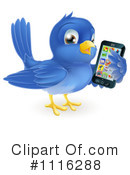 Royalty-Free (RF) bluebird Clipart Illustration #1116288