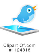 Royalty-Free (RF) bluebird Clipart Illustration #1124816
