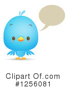 Bluebird Clipart #1256081 by Qiun