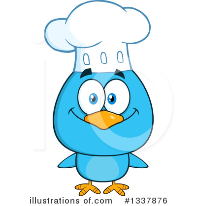 Blue Birds Clipart #1337876 by Hit Toon