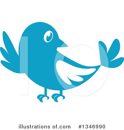 Bird Clipart #1346990 by Vector Tradition SM