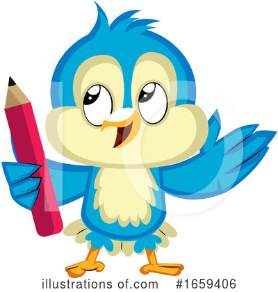 Bluebird Clipart #1659406 by Morphart Creations