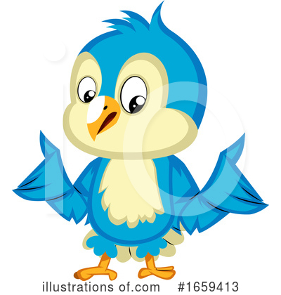 Bluebird Clipart #1659413 by Morphart Creations