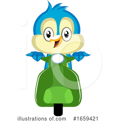 Bluebird Clipart #1659421 by Morphart Creations