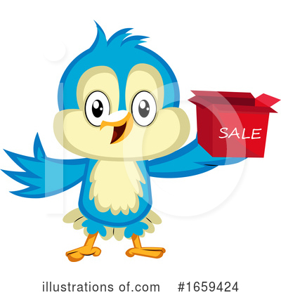 Bluebird Clipart #1659424 by Morphart Creations