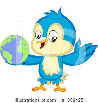 Bluebird Clipart #1659425 by Morphart Creations