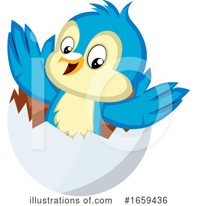 Bluebird Clipart #1659436 by Morphart Creations