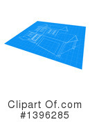 Blueprints Clipart #1396285 by AtStockIllustration