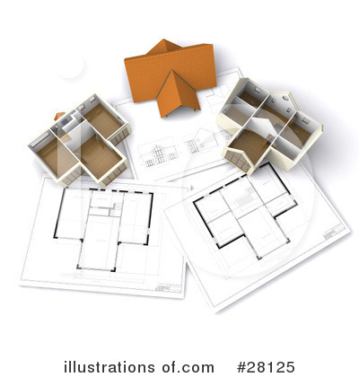 Architect Clipart #28125 by KJ Pargeter