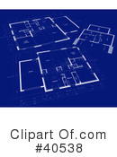 Blueprints Clipart #40538