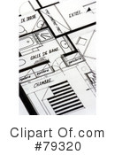 Blueprints Clipart #79320