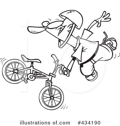 Bicycle Clipart #434190 by toonaday