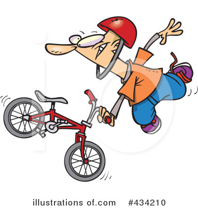 Bicycle Clipart #434210 by toonaday