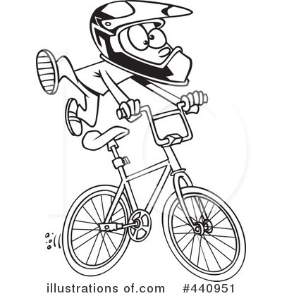 Bicycle Clipart #440951 by toonaday