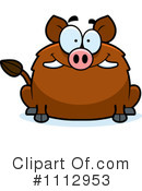 Boar Clipart #1112953 by Cory Thoman
