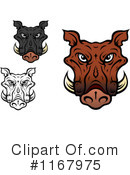 Boar Clipart #1167975 by Vector Tradition SM