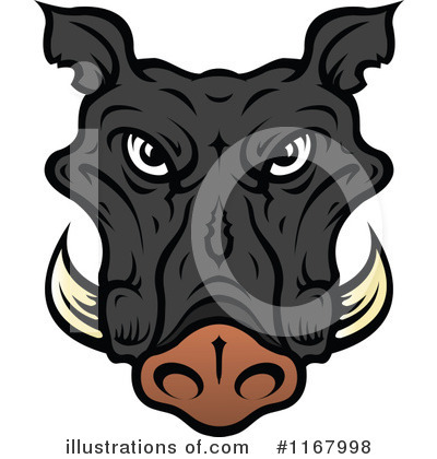Royalty-Free (RF) Boar Clipart Illustration by Vector Tradition SM - Stock Sample #1167998