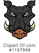 Boar Clipart #1167998 by Vector Tradition SM