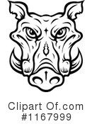 Boar Clipart #1167999 by Vector Tradition SM