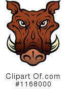 Boar Clipart #1168000 by Vector Tradition SM