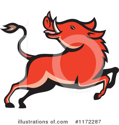 Boar Clipart #1172287 by patrimonio