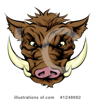 Pig Clipart #1248662 by AtStockIllustration