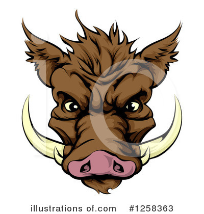 Pig Clipart #1258363 by AtStockIllustration