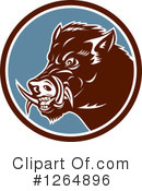 Boar Clipart #1264896 by patrimonio