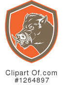 Boar Clipart #1264897 by patrimonio