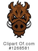 Boar Clipart #1268581 by Vector Tradition SM