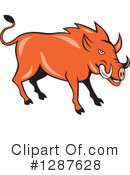 Boar Clipart #1287628 by patrimonio