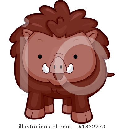 Pig Clipart #1332273 by BNP Design Studio
