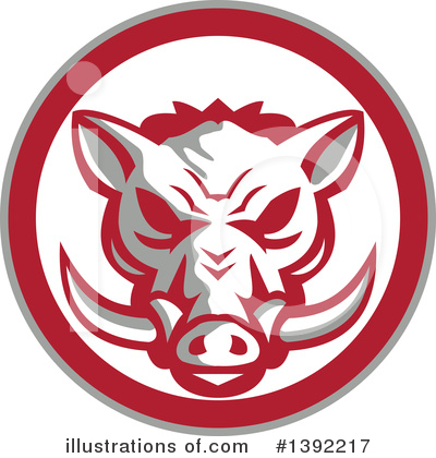 Boar Clipart #1392217 by patrimonio
