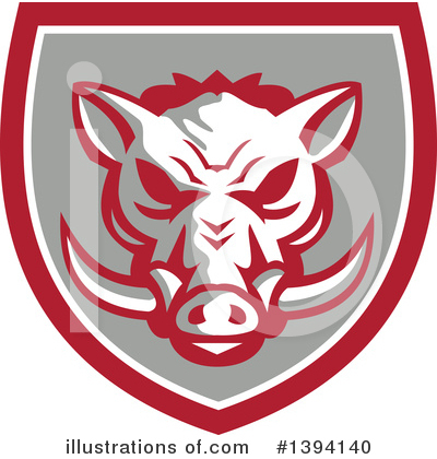 Boar Clipart #1394140 by patrimonio