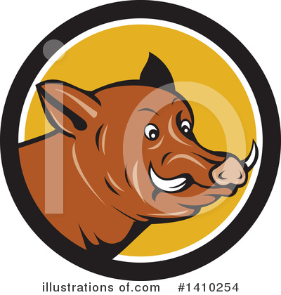 Boar Clipart #1410254 by patrimonio