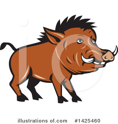 Boar Clipart #1425460 by patrimonio