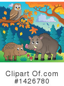 Boar Clipart #1426780 by visekart