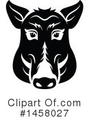 Boar Clipart #1458027 by Vector Tradition SM
