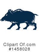Boar Clipart #1458028 by Vector Tradition SM