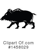 Boar Clipart #1458029 by Vector Tradition SM