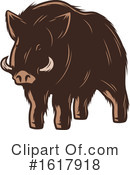 Boar Clipart #1617918 by Vector Tradition SM