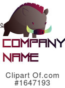 Boar Clipart #1647193 by Morphart Creations