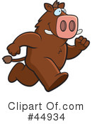 Boar Clipart #44934 by Cory Thoman