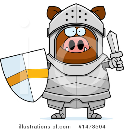 Knight Clipart #1478504 by Cory Thoman