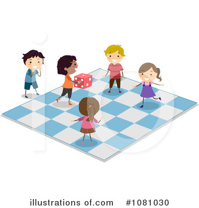 Royalty-Free (RF) Board Game Clipart Illustration by BNP Design Studio - Stock Sample #1081030