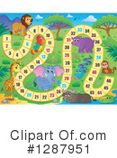 Royalty-Free (RF) Board Game Clipart Illustration #1287951