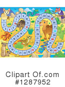 Royalty-Free (RF) Board Game Clipart Illustration #1287952