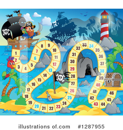 Board Game Clipart #1287955 by visekart